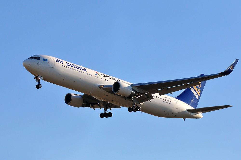 Эйр Астана лоукостер FlyArystan авиакомпания внутренние перелеты