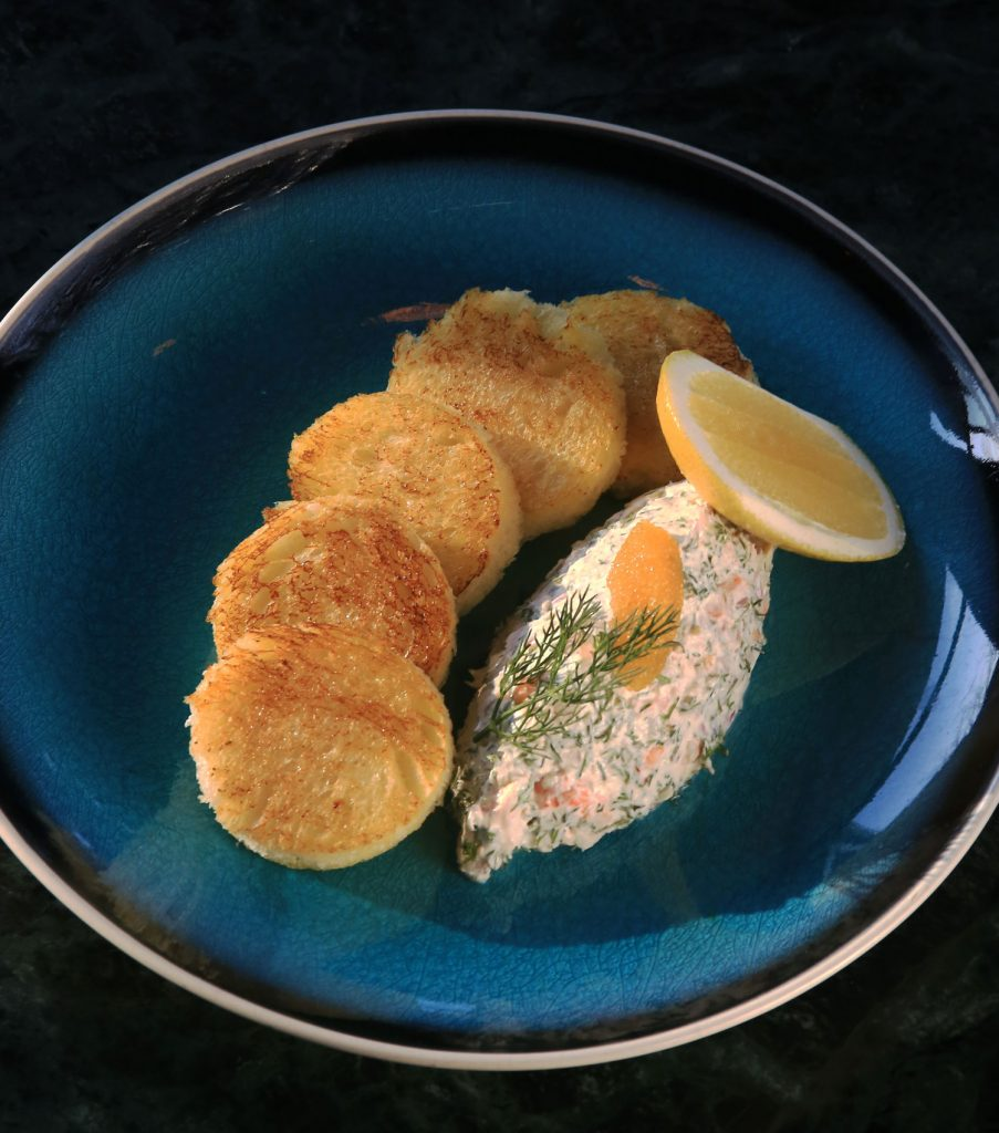 Тост скаген Швеция еда блюдо Craft Kitchen&Bar Алматы ресторан