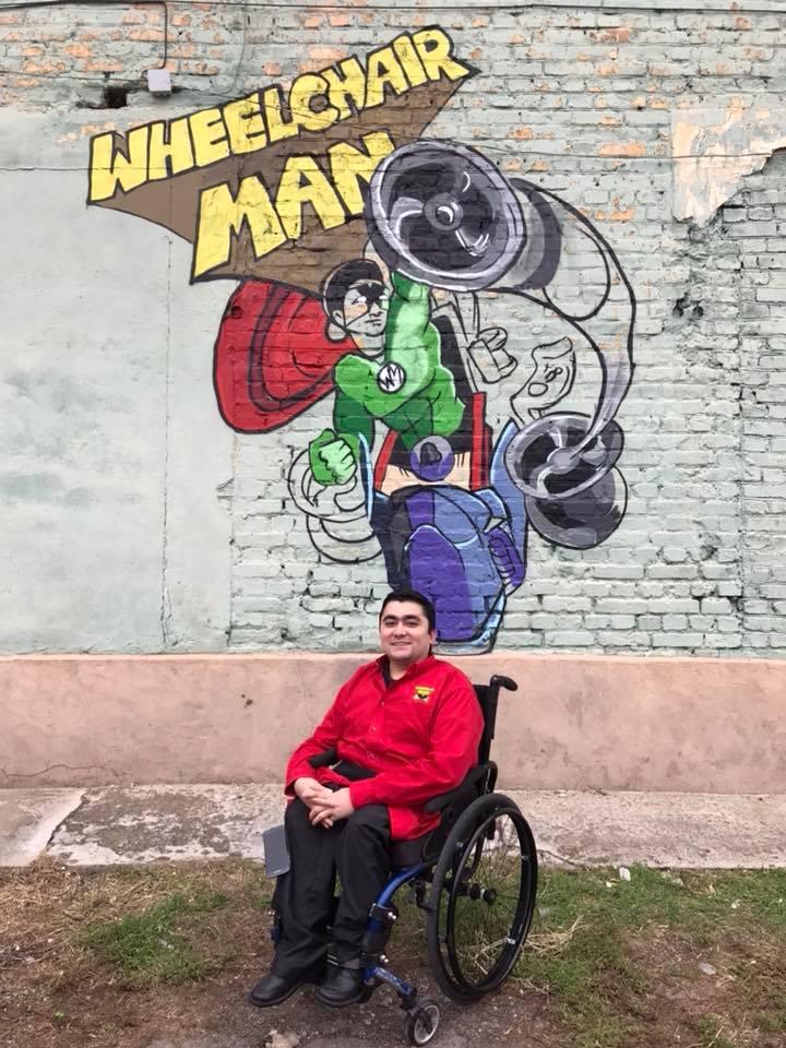 Мохаммед Сайед Wheelchair man колясочник инвалид