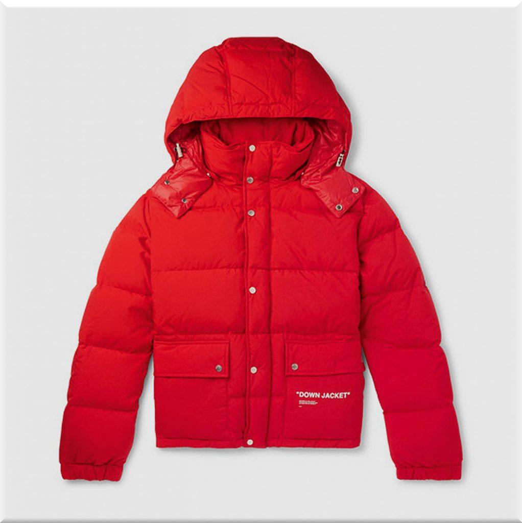 Что можно подарить куртка подарки декабрь январь зима off white