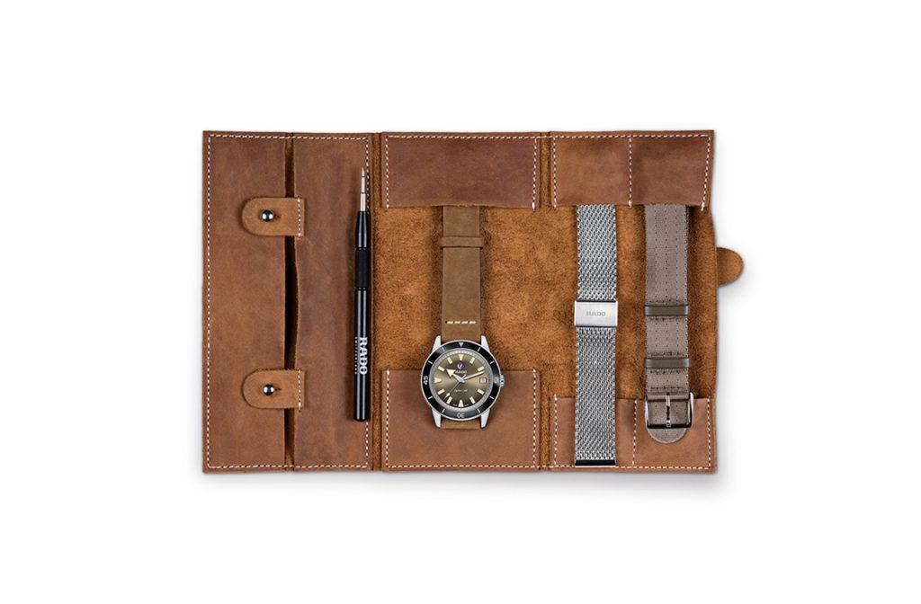 Rado Captain Cook кожаный кейс для часов