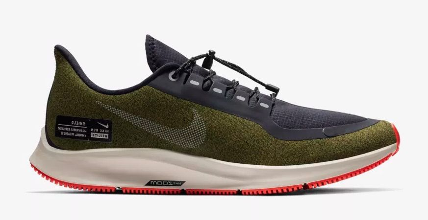 NIKE AIR ZOOM PEGASUS 35 SHIELD кроссовки для бега спортивная обувь 2018 Esquire мода спорт