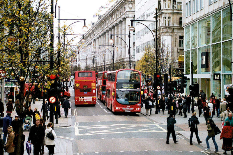 Лондон Англия улица