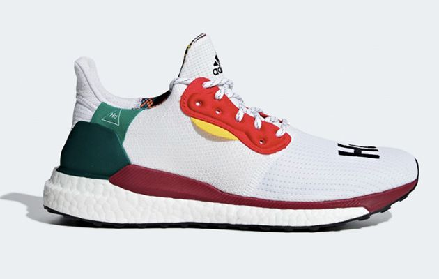 PHARRELL WILLIAMS X ADIDAS SOLAR HU GLIDE кроссовки для бега спортивная обувь 2018 Esquire мода спорт