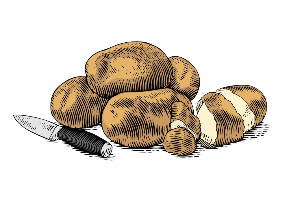 Жанна Исабаева Отвергнутые картошка