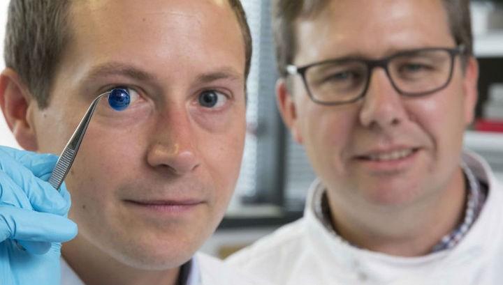 роговица глаза 3D принтер наука 2018 научных открытий