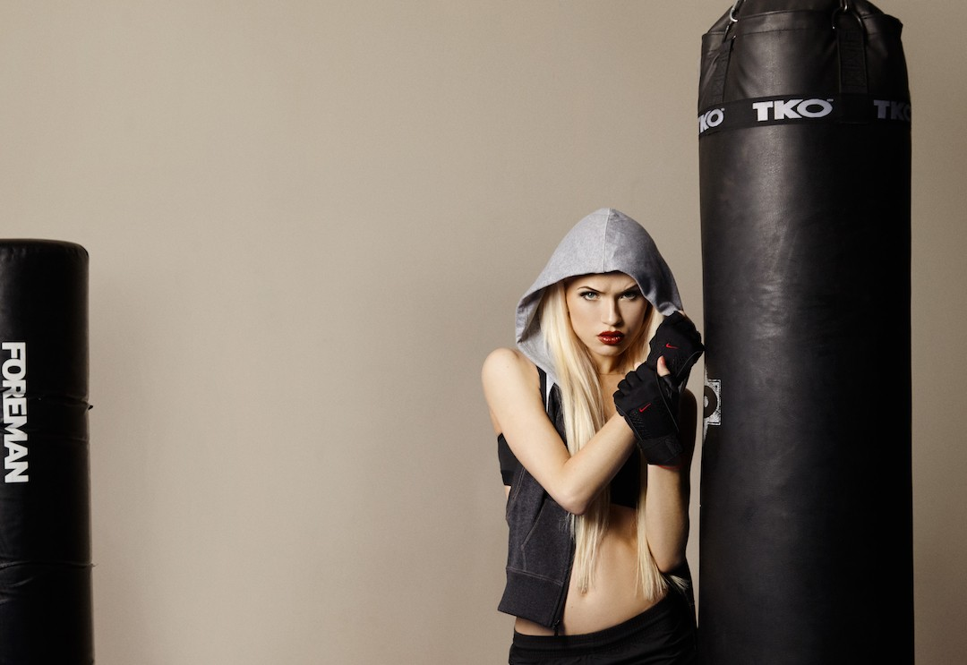 женский бокс luxor