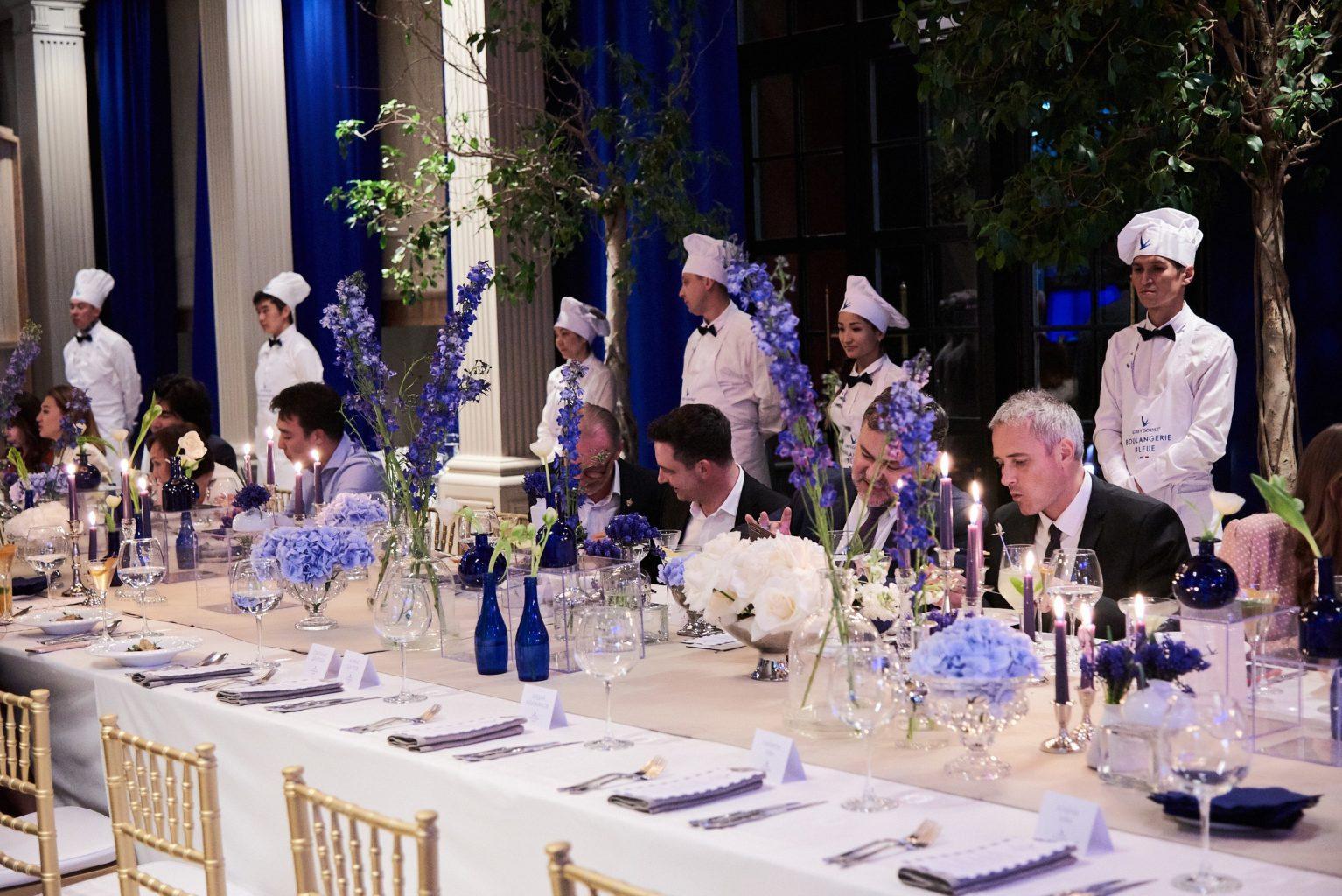 Grey Goose Boulangerie Bleue вечер французской кухни