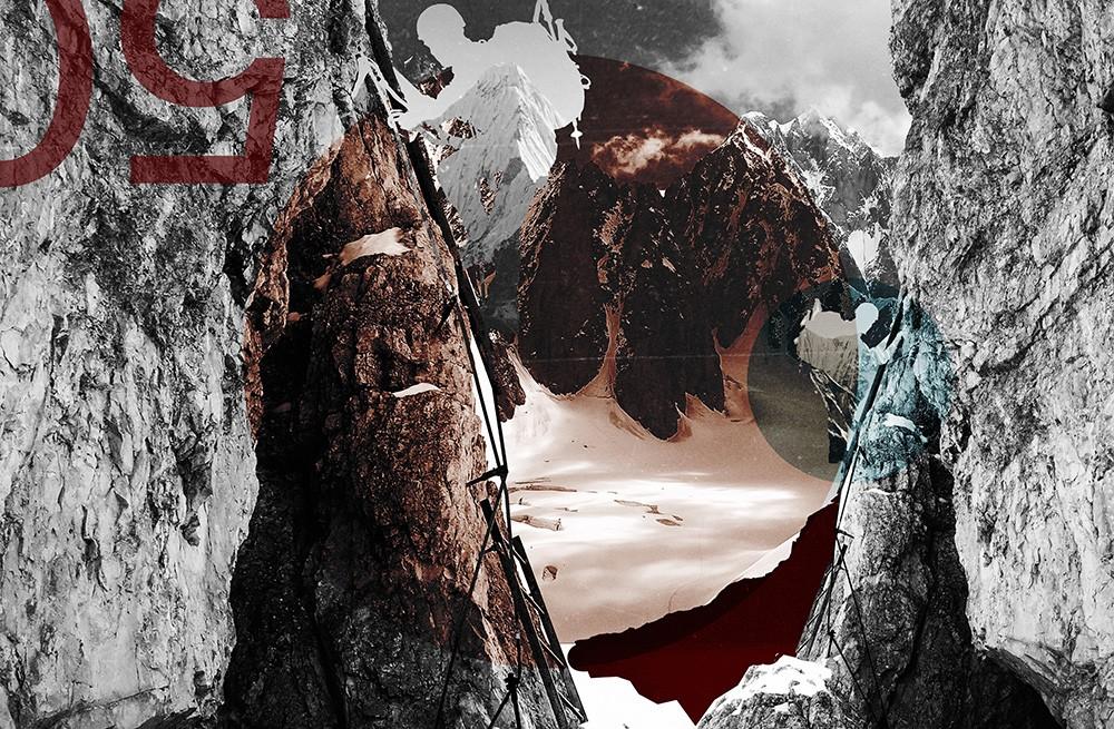 горы альпинист