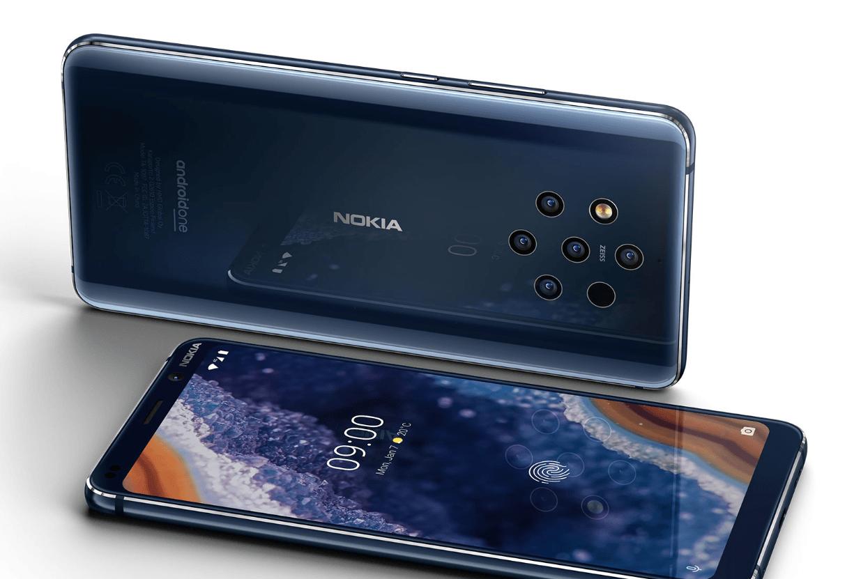 Nokia показала самый доступный смартфон с 5 камерами