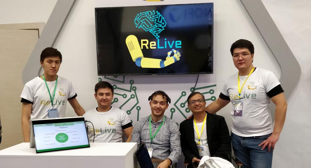 ООН топ-20 инноваций инсульт платформа лечение ReLive
