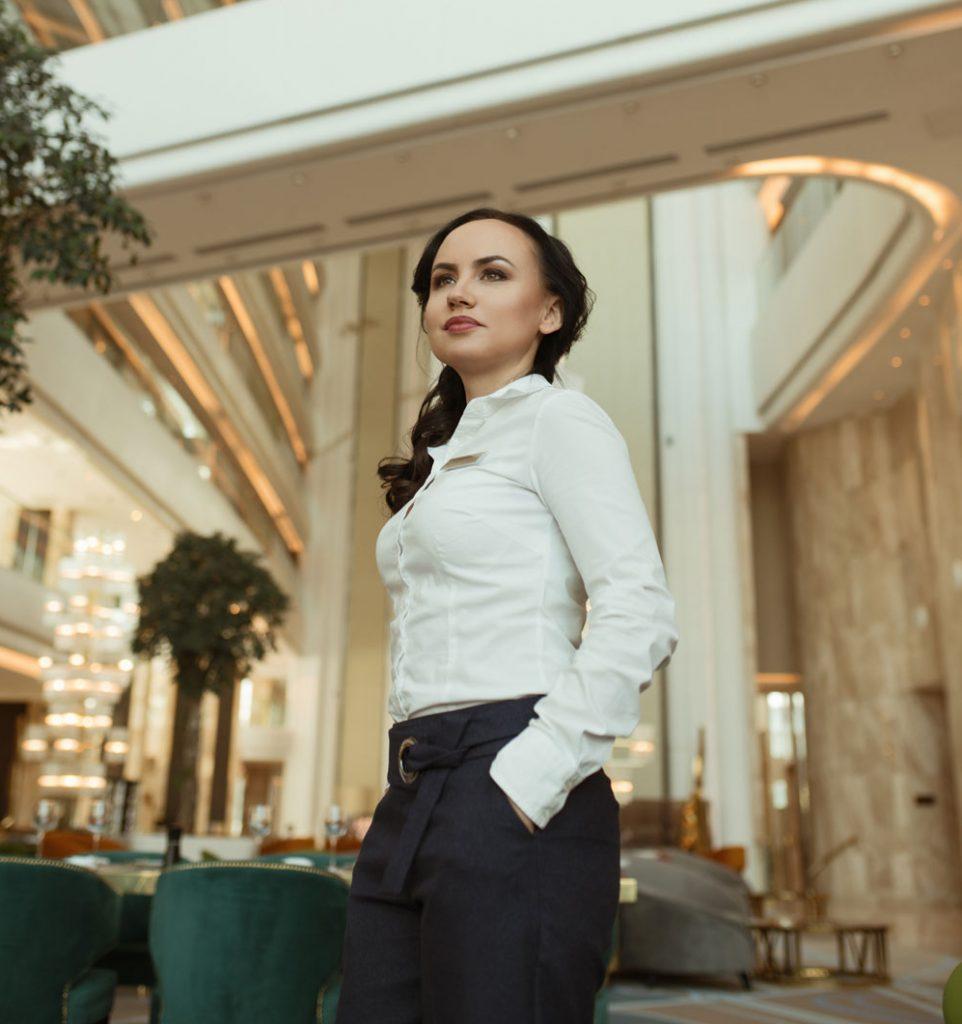 Анна Суханова Hilton Астана 100 лет интервью