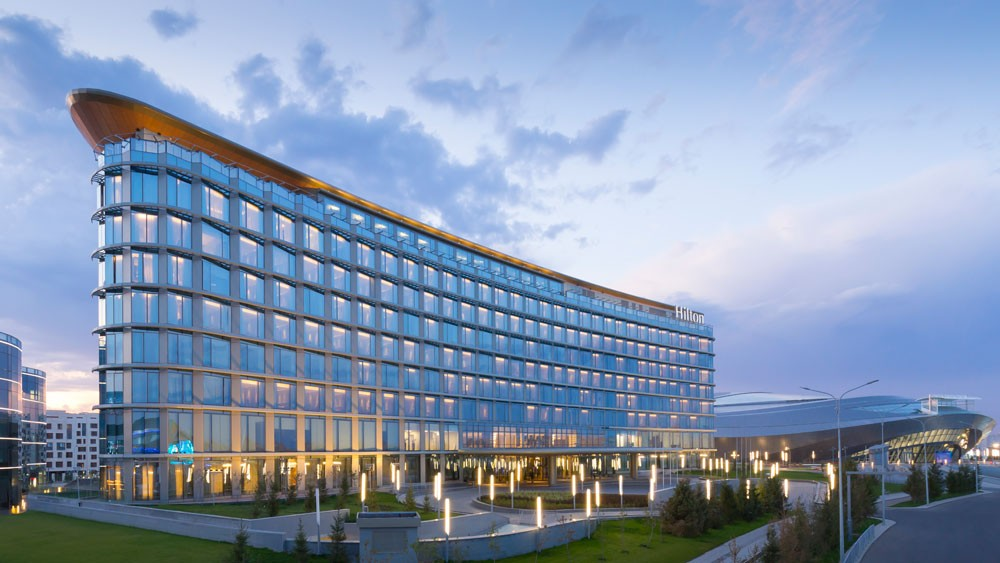 Hilton Астана 100 лет интервью