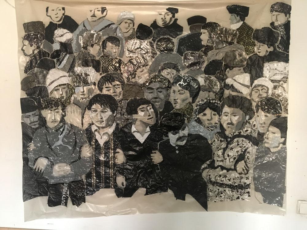 Сауле Сулейменова арт искусство Желтоксан 2