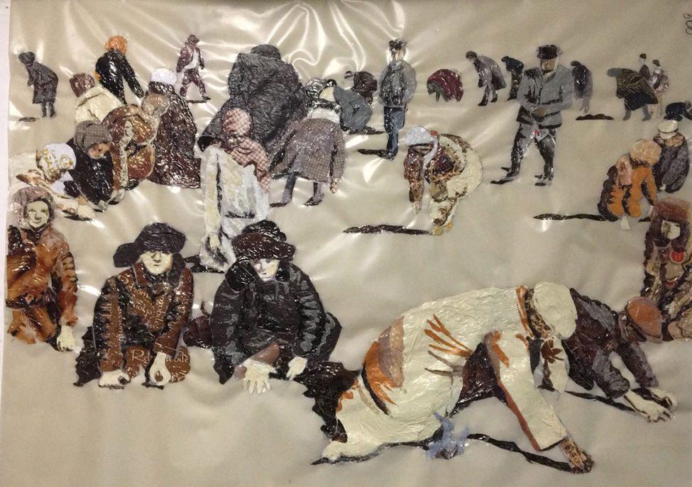 Сауле Сулейменова арт искусство Ашаршылык инсталляция
