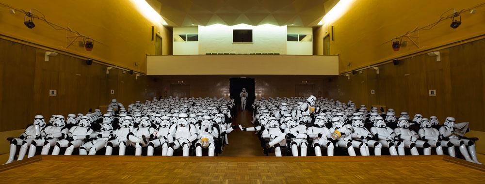 Хорхе Перес Игера арт-проект Другая сторона Имперские штурмовики Звездные войны фотопроект
