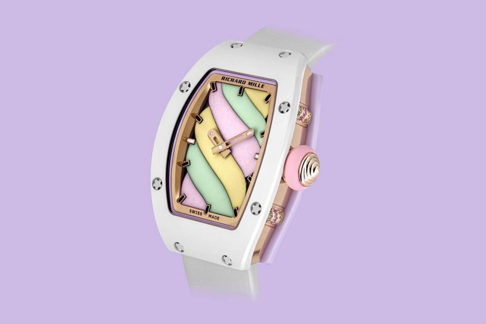 Richard Mille Bonbon необычные часы SIHH 2019 мода