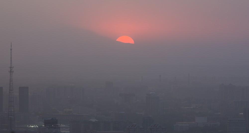 Алматы Астана загрязнение воздуха