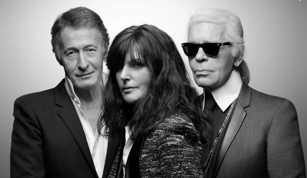 Эрик Пфрандер Вирджиния Виар Карл Лагерфельд мода модный дом Chanel