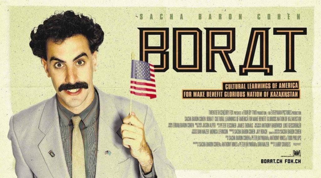 Борат Саша Барон-Коэн кино Казахстан США Голливуд