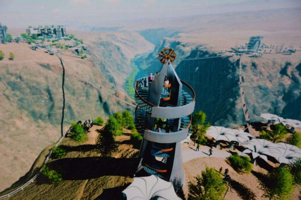 Чарынский каньон парк развлечений гостиница Charyn Park туризм место отдыха