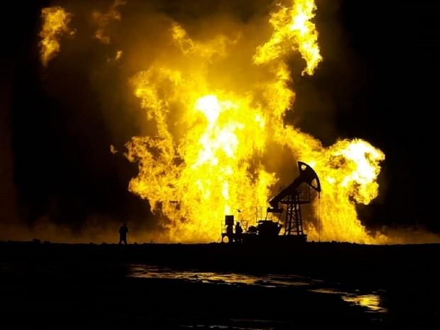 Вспыхнул огненным факелом, <br> или Что происходит на Каламкасе