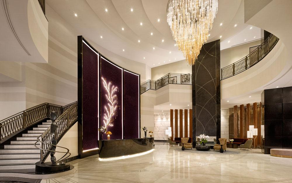 Лобби The Ritz-Carlton, Astana признан одним из лучших в мире
