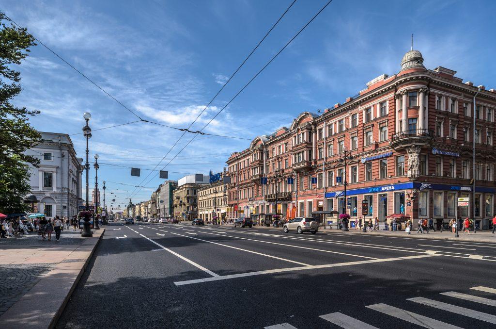 Невский проспект Питер ФМ путешествия Петербург