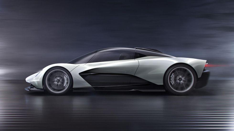 Женевский автосалон Aston Martin 003 гиперкар электрокар