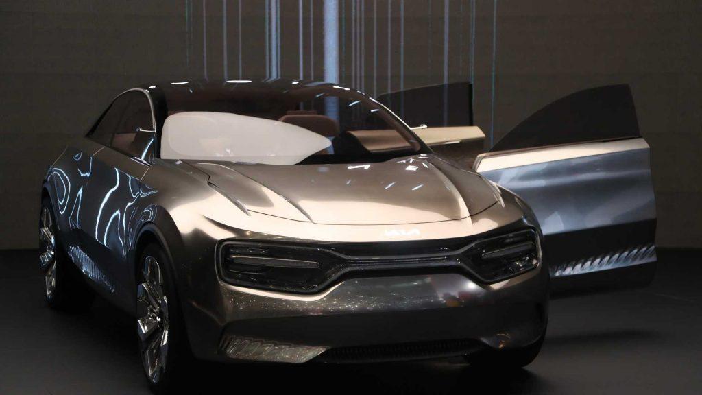 Kia Imagine концепт-кар Женевский автосалон машины автомобили
