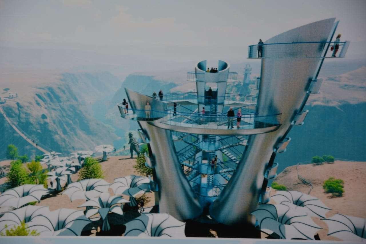 В Чарынском каньоне построят парк развлечений и гостиницу