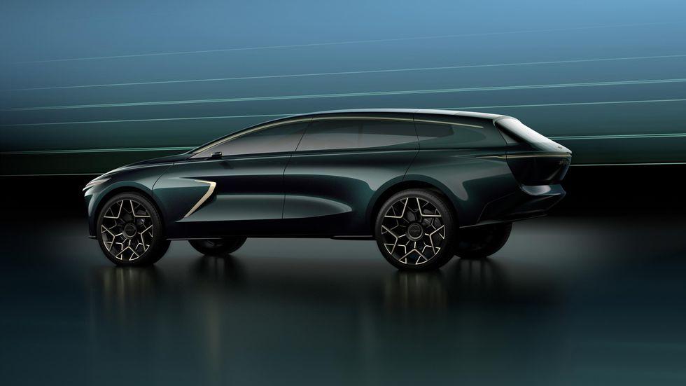 Женевский автосалон Lagonda All Terrain Concept 2019 концепт кар электрокар