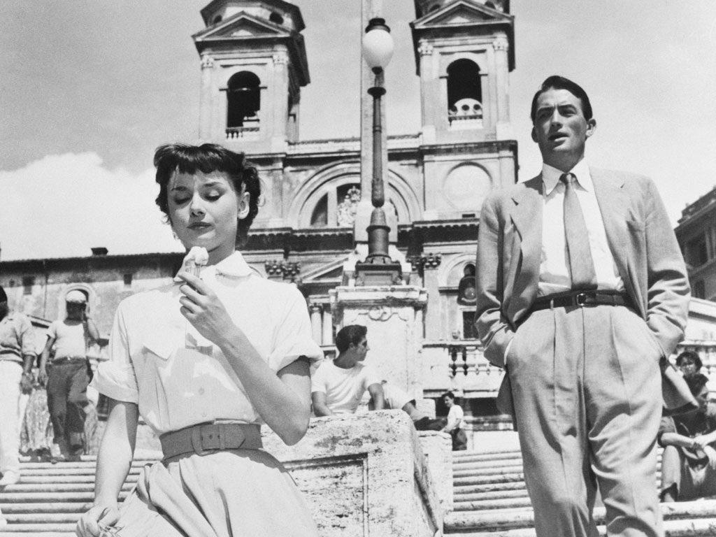 Испанские ступеньки Римские каникулы Рим Италия
