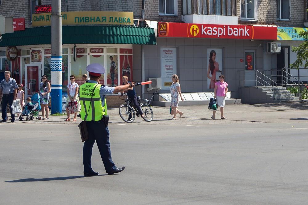 полиция Туркестанская область Казахстан ПДД ДП МВД