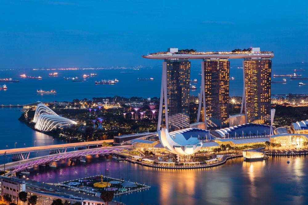 Сингапур путешествия Азия Безумно богатые азиаты сверхдеревья