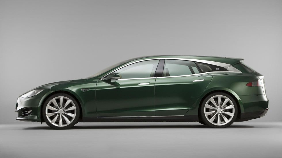 Женевский автосалон Tesla Model S Shooting Brake 2019 концепт кар спорткар электрокар