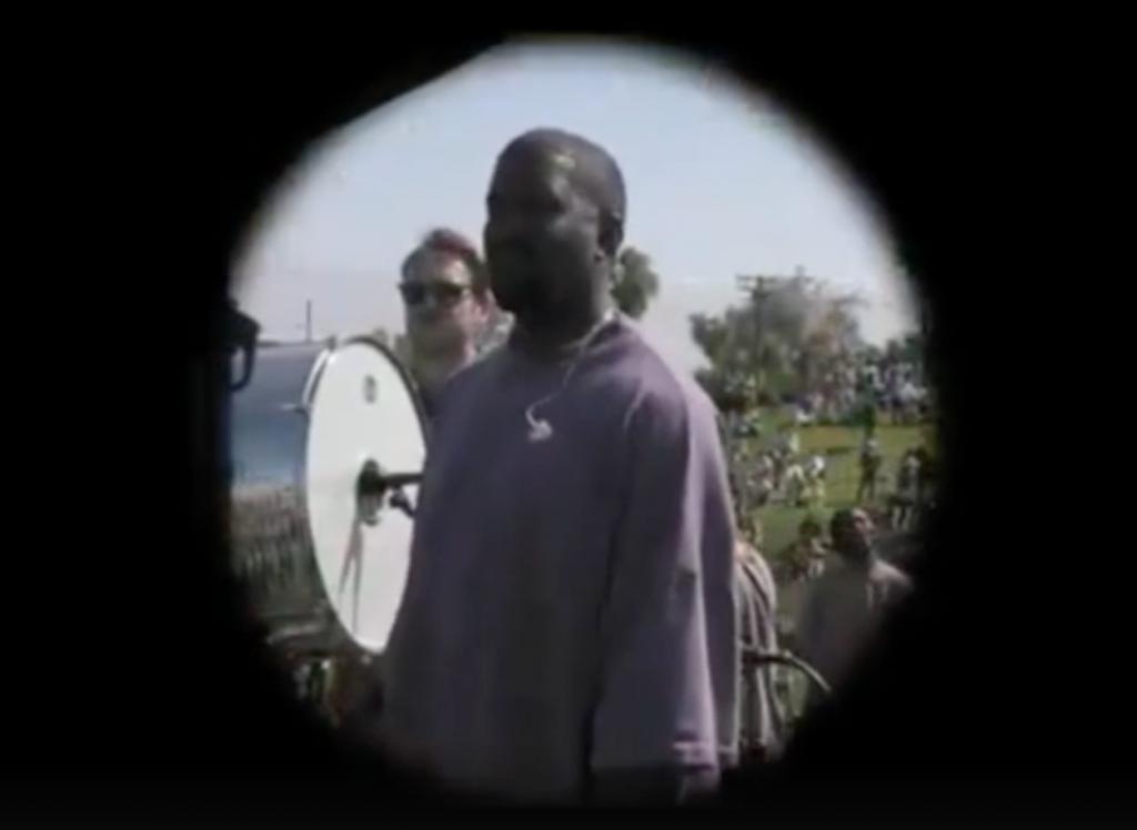 Канье Уэст воскресная служба пасхальная служба США Coachella Калифорния музыка госпел вера религия