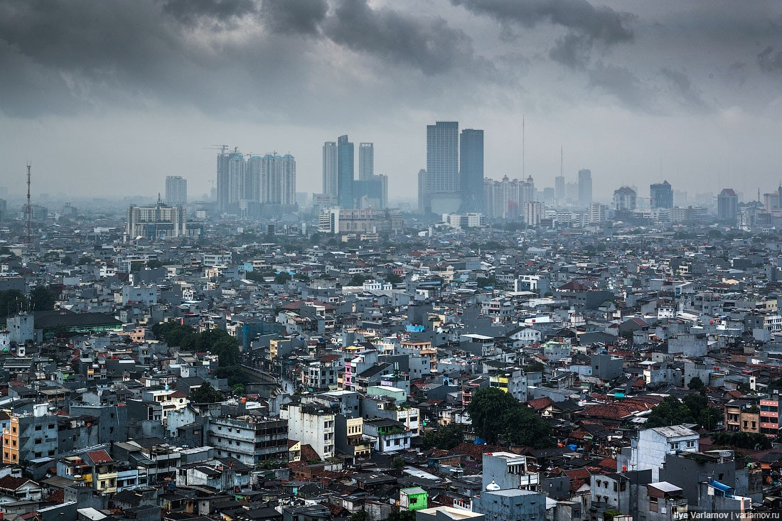 Джакарта Индонезия перенос столицы