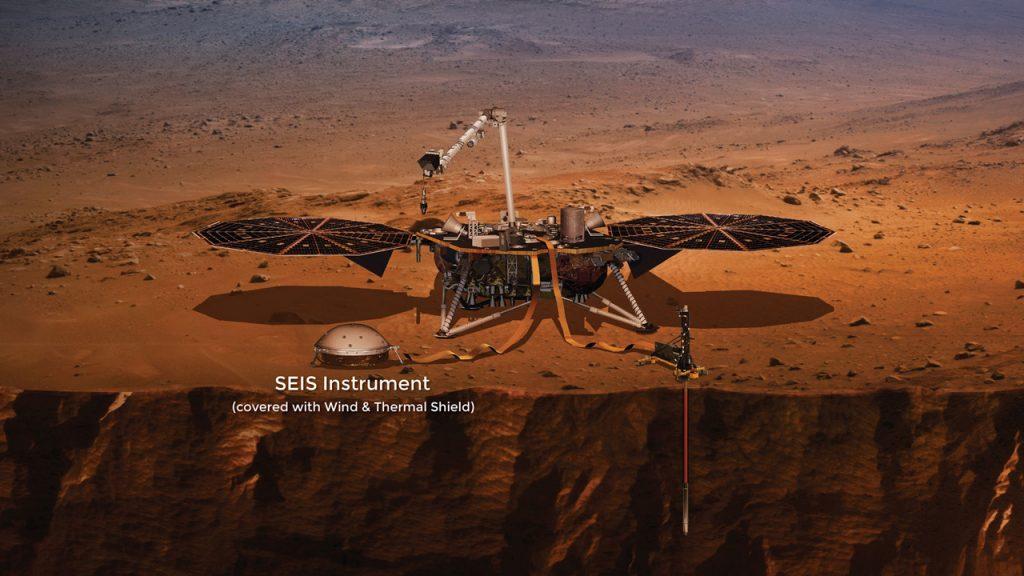SEIS Франция космос Марс планета марсотрясение землетрясение изучение наука