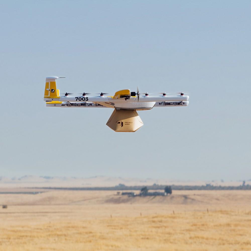 Project Wing беспилотник дроны доставка США разрешение