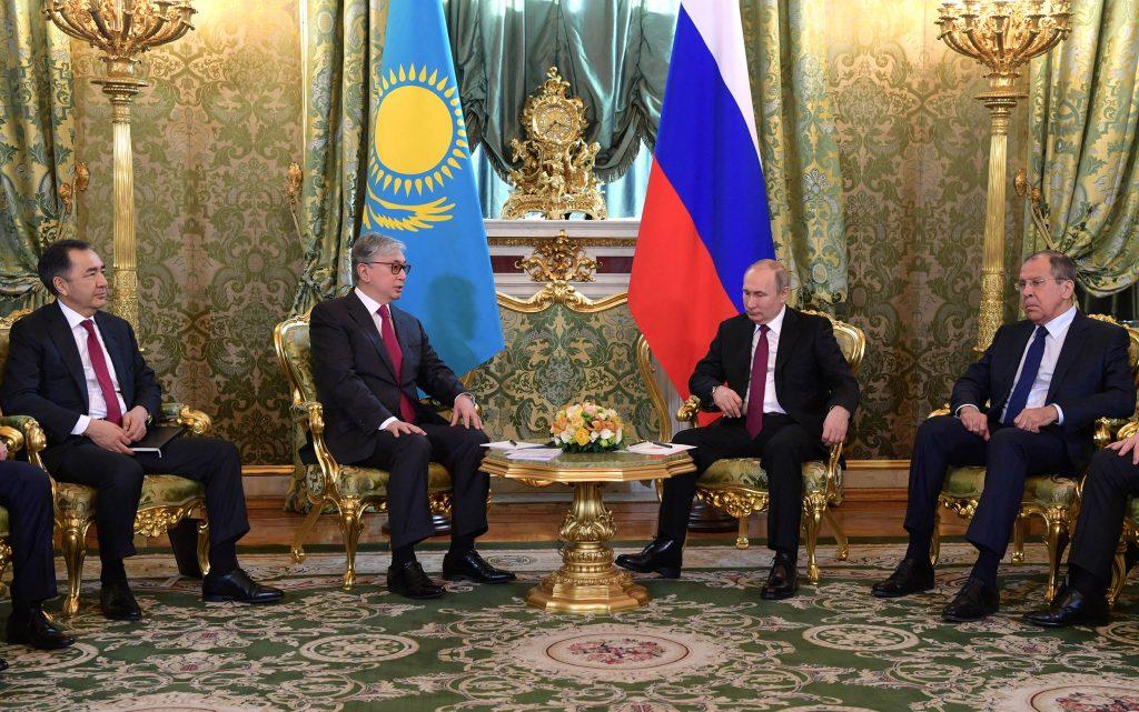 Токаев Путин визит Москва Лавров