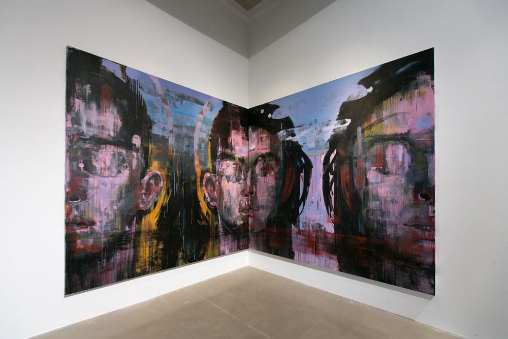 Нурбол Нурахмет «Расщепление» художник искусство Алматы Казахстан выставка
