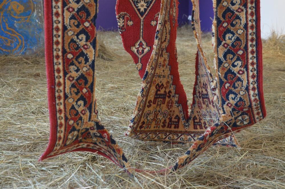 искусство красный цвет культура история Бахыт Бубиканова Казахстан