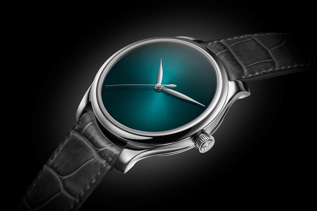 H. Moser & Cie. Venturer Concept Vantablack Baselworld 2019 часы мода выставка коллекция минимализм аксессуары Швеция