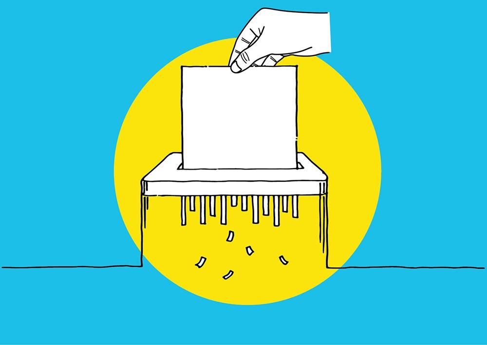 участвовать в выборах