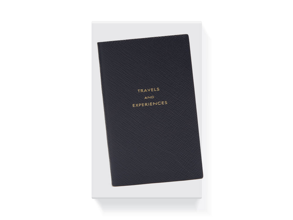 Smythson Travels and Experiences Записная книжка подарки апрель 2019 значимые даты презенты