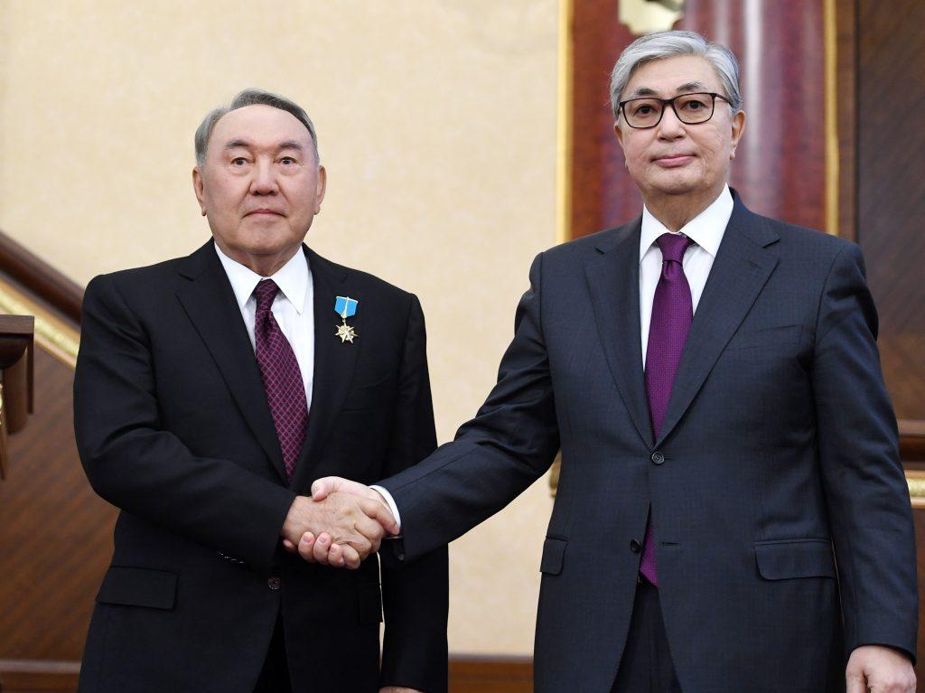 Токаев Назарбаев Нур Отан выборы президента РК 2019 Казахстан