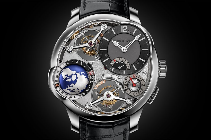 Greubel Forsey Quadruple Tourbillon GMT Baselworld 2019 часы мода аксессуары