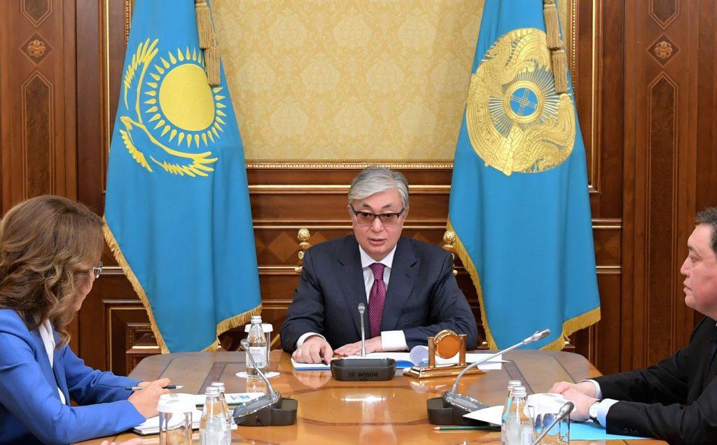 Токаев Касым-Жомарт досрочные выборы обращение РК Казахстан президент