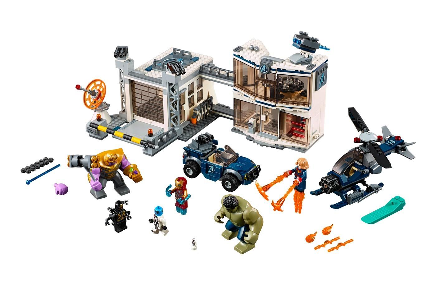 Marvel Lego Мстители финал